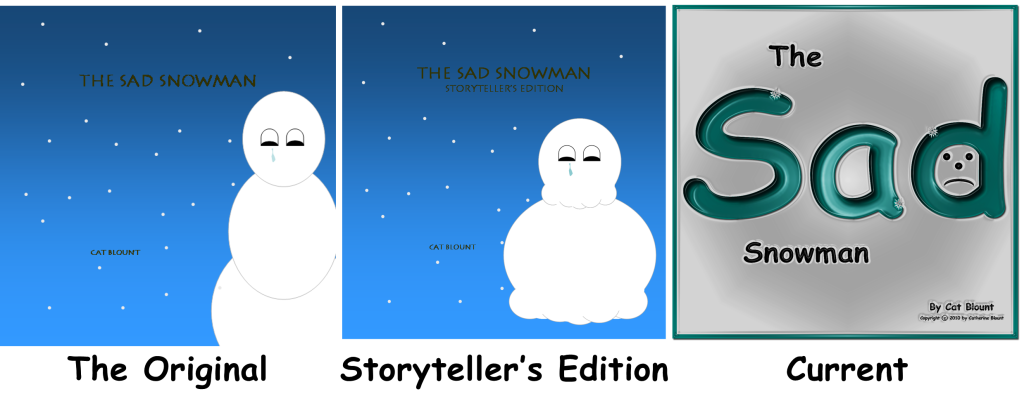 The Sad Snowman Covers